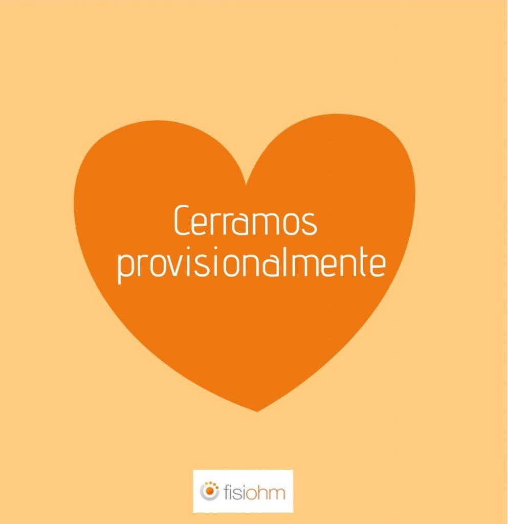 CERRAMOS PROVISIONALMENTE COVID-19
